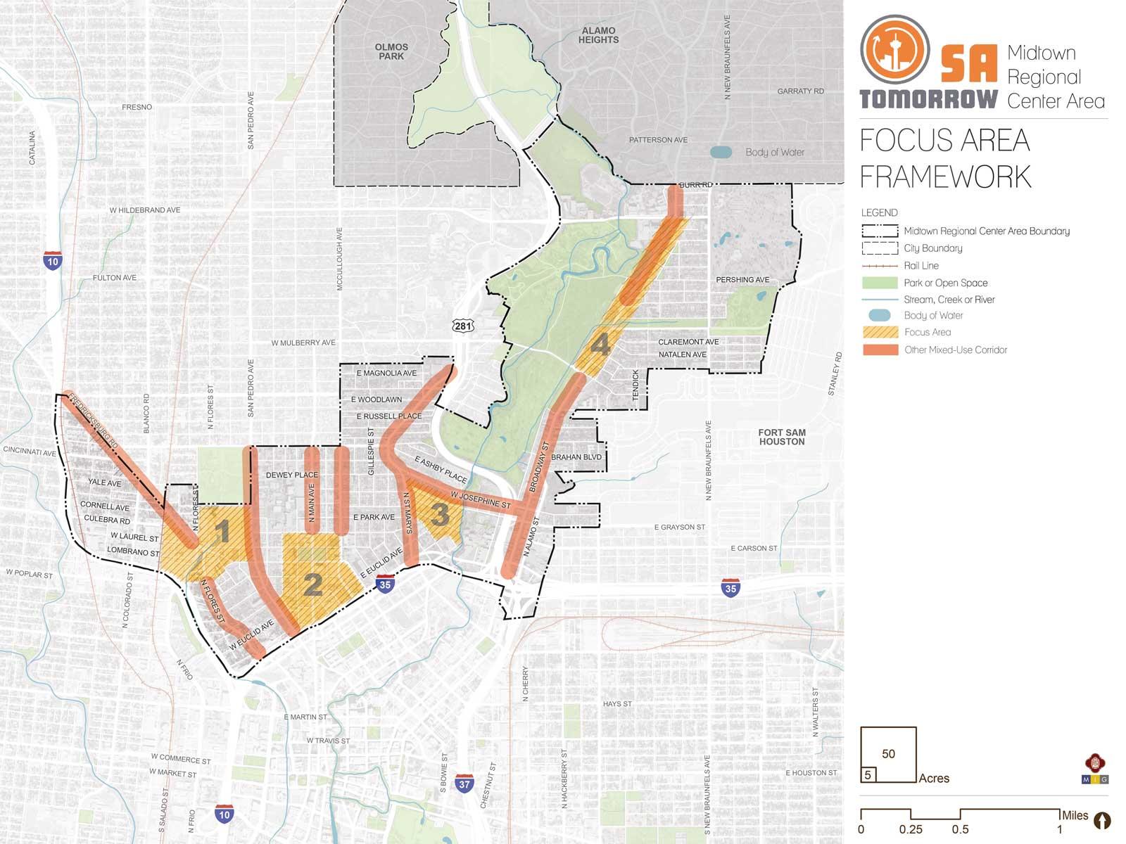 Focus Areas - - Midtown Area Regional Center